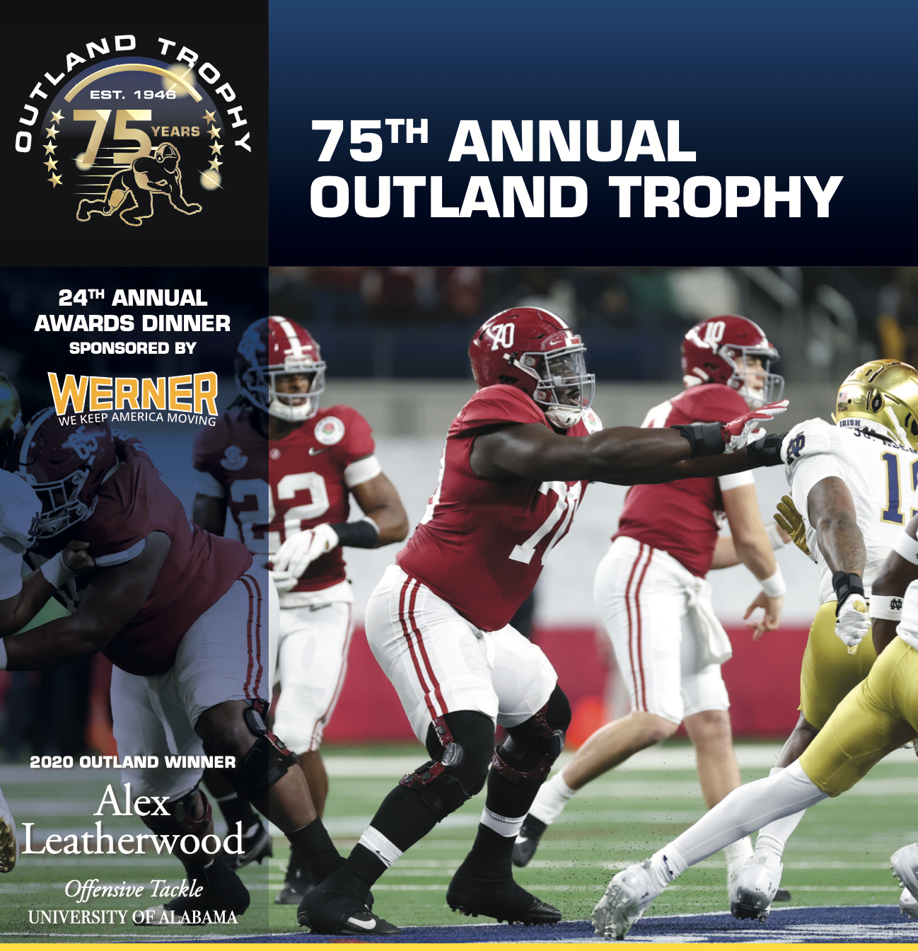 Alex Leatherwood Outland Trophy Highlight Tribute Video