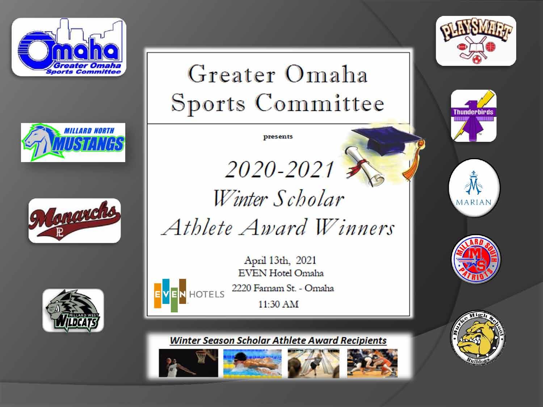 Scholar Athlete Winner Slides